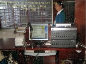 Hệ Thống Rút Phiếu Tự Động PTP-IQS